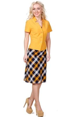 Бенгалин юбка 1258 1 алыча хлопок