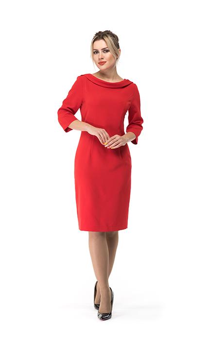 Платье 7142-4 - спереди