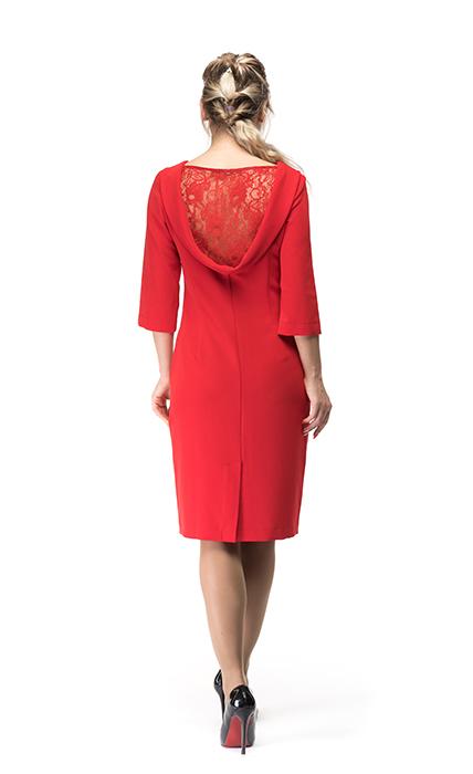 Платье 7142-4 - сзади