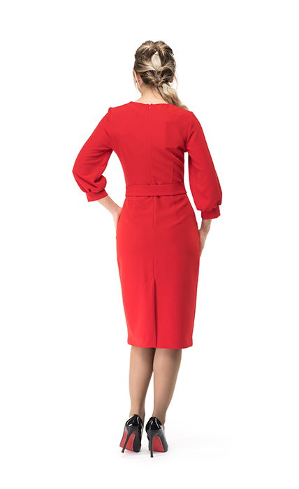 Платье 7144-1 - сзади
