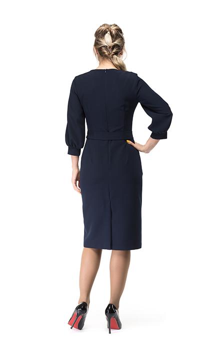 Платье 7144-2 - сзади