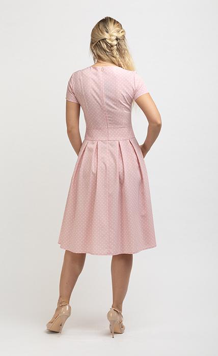 Платье 7152-3 - сзади