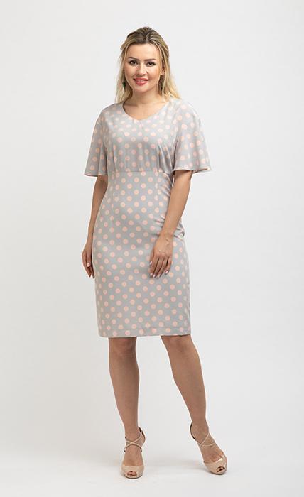 Платье 7153-1 - спереди