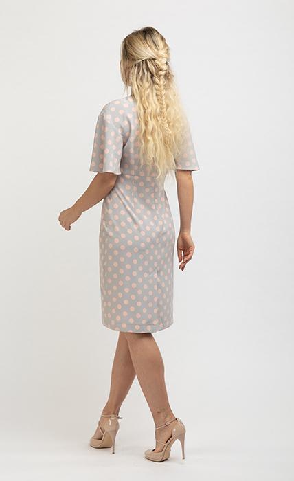 Платье 7153-1 - сзади