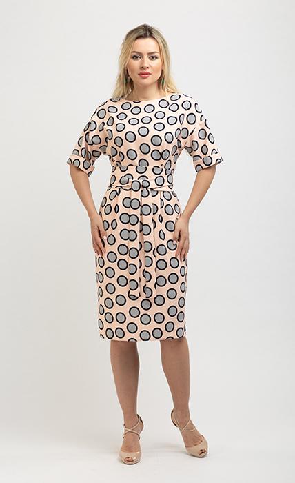 Платье 7155-1 - спереди