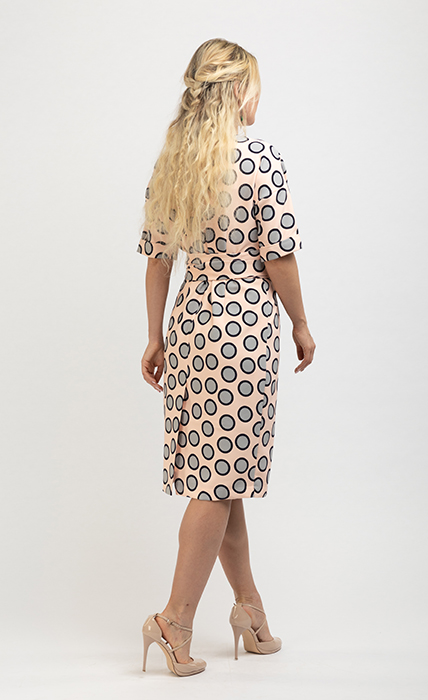 Платье 7155-1 - сзади