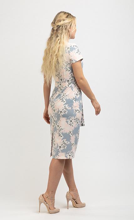 Платье 7174-1 - сзади