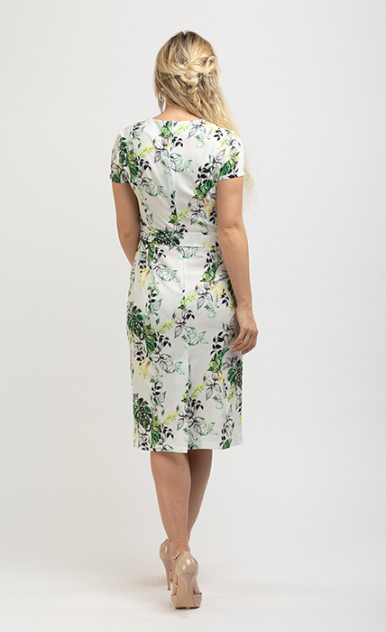 Платье 7174-2 - сзади