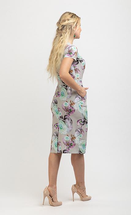 Платье 7174-3 - сзади