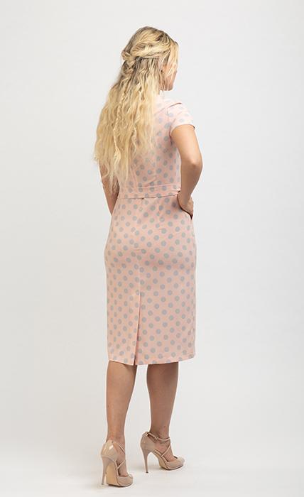 Платье 7174-5 - сзади