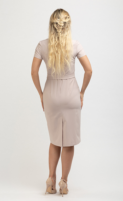 Платье 7181-2 - сзади