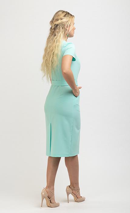 Платье 7181-3 - сзади