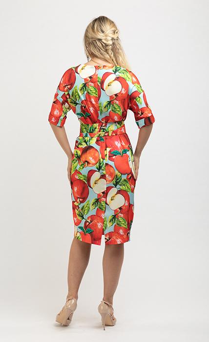 Платье 7184-1 - сзади