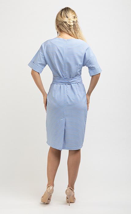 Платье 7185-2 - сзади
