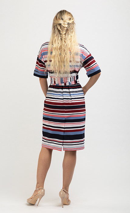 Платье 7185-3 - сзади