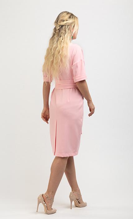 Платье 7186-1 - сзади