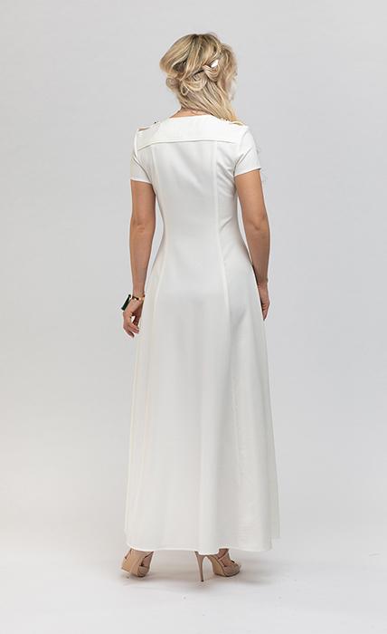 Платье 7190-3 - сзади