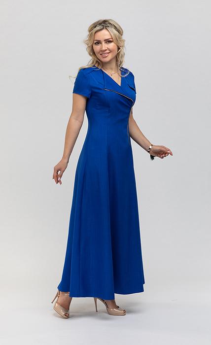 Платье 7191-1 - спереди