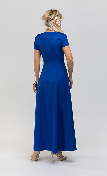Платье 7191-1 - сзади