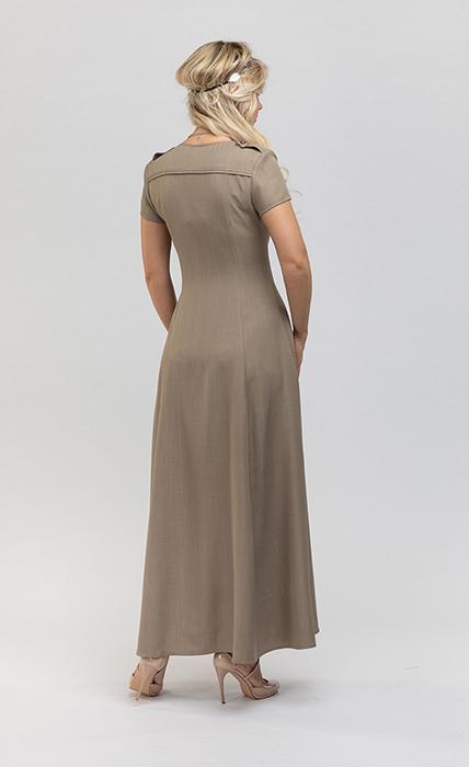 Платье 7191-4 - сзади