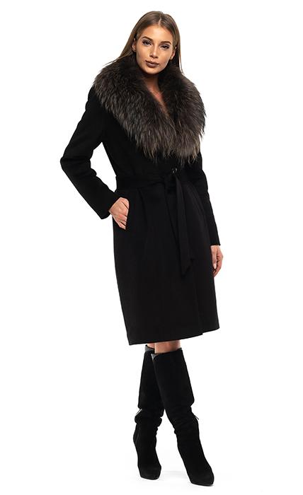 Пальто 9166-1 - спереди